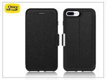 Apple iPhone 7 Plus//iPhone 8 Plus flipes védőtok - OtterBox Strada - onyx black