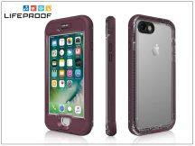 Apple iPhone 7 víz- por- és ütésálló védőtok - Lifeproof Nüüd - plum