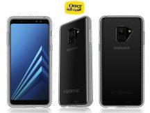 Samsung A530F Galaxy A8 (2018) védőtok - OtterBox Prefix - transparent