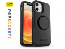 Apple iPhone 12 Mini védőtok - OtterBox Symmetry Popsockets - black