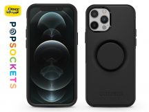 Apple iPhone 12 Pro Max védőtok - OtterBox Symmetry Popsockets - black
