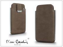 Pierre Cardin valódi bőrtok - Apple iPhone 4/4S - Type-2 - beige