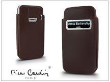 Pierre Cardin valódi bőrtok - Apple iPhone 4/4S - Type-3 - barna