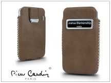 Pierre Cardin valódi bőrtok - Apple iPhone 4/4S - Type-4 - beige