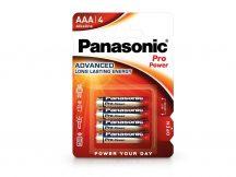 Panasonic Pro Power Alkaline AAA ceruza elem - 4 db/csomag