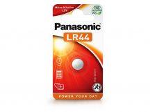 Panasonic LR44 Alkaline gombelem - 1,5V - 1 db/csomag