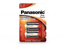 Panasonic Pro Power Alkaline LR14 Baby elem - 2 db/csomag