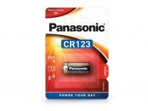 Panasonic CR123 lithium fotó elem - 3V - 1 db/csomag
