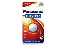 Panasonic CR2016 lithium gombelem - 3V - 1 db/csomag