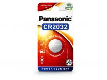 Panasonic CR2032 lithium gombelem - 3V - 1 db/csomag