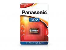 Panasonic CR2 lithium fotó elem - 3V - 1 db/csomag