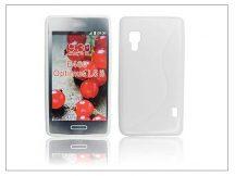 LG E460 Optimus L5 II szilikon hátlap - S-Line - fehér