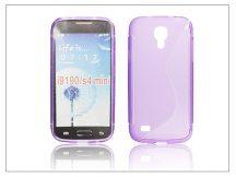Samsung i9190 Galaxy S4 Mini szilikon hátlap - S-Line - lila