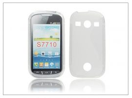 Samsung S7710 Galaxy Xcover 2 szilikon hátlap - S-Line - clear