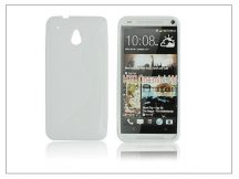 HTC One Mini (M4) szilikon hátlap - S-Line - fehér