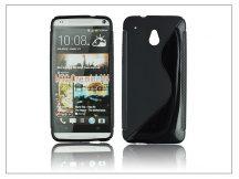 HTC One Mini (M4) szilikon hátlap - S-Line - fekete