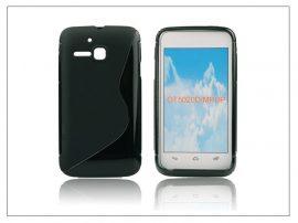 Alcatel One Touch M Pop 5020D szilikon hátlap - S-Line - fekete