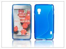 LG E460 Optimus L5 II szilikon hátlap - S-Line - kék