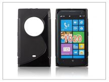 Nokia Lumia 1020 szilikon hátlap - S-Line - fekete