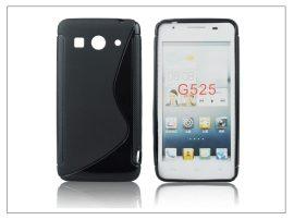 Huawei Ascend G525 szilikon hátlap - S-Line - fekete