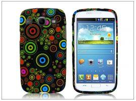 Samsung i8260 Galaxy Core szilikon hátlap - design 4