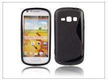 Samsung Galaxy Prevail 2 szilikon hátlap - S-Line - fekete