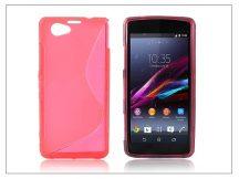 Sony Xperia Z1 Compact (D5503) szilikon hátlap - S-Line - pink