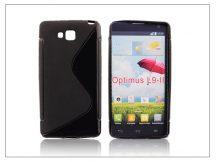 LG D605 Optimus L9 II szilikon hátlap - S-Line - fekete