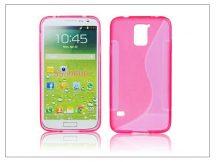 Samsung SM-G900 Galaxy S5 szilikon hátlap - S-Line - pink