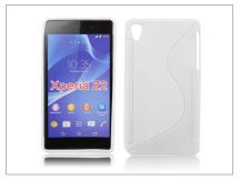 Sony Xperia Z2 szilikon hátlap - S-Line - fehér