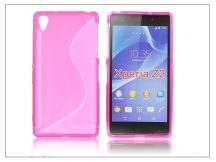 Sony Xperia Z2 szilikon hátlap - S-Line - pink