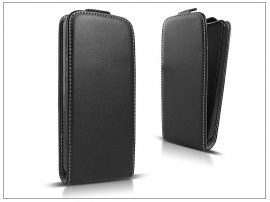 Slim Flexi Flip bőrtok - Alcatel One Touch Idol 2 Mini S (OT-6036) - fekete