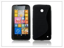 Nokia Lumia 630 szilikon hátlap - S-Line - fekete
