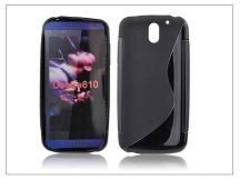 HTC Desire 610 szilikon hátlap - S-Line - fekete