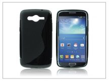 Samsung SM-G386 Galaxy Core LTE szilikon hátlap - S-Line - fekete