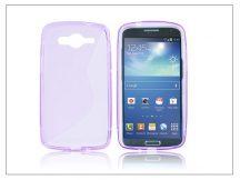Samsung SM-G386 Galaxy Core LTE szilikon hátlap - S-Line - lila