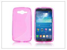 Samsung SM-G386 Galaxy Core LTE szilikon hátlap - S-Line - pink