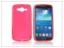Samsung SM-G386 Galaxy Core LTE szilikon hátlap - S-Line - piros