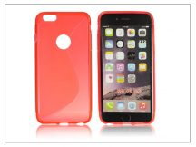 Apple iPhone 6 Plus szilikon hátlap - S-Line - piros