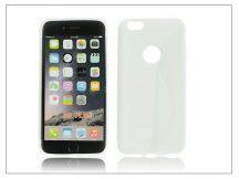 Apple iPhone 6 Plus szilikon hátlap - S-Line - fehér