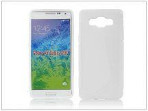 Samsung SM-A500 Galaxy A5 szilikon hátlap - S-Line - fehér
