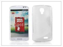 LG F70 D315 szilikon hátlap - S-Line - transparent