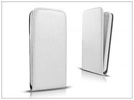 Slim Flexi Flip bőrtok - LG D290N L Fino - fehér