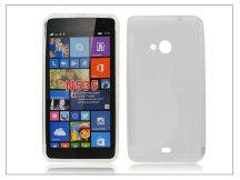 Microsoft Lumia 535 szilikon hátlap - S-Line - transparent
