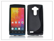 LG G4 H815 szilikon hátlap - S-Line - fekete