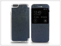 Apple iPhone 6/6S S-View Flexi oldalra nyíló flipes tok - kék