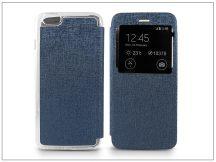 Apple iPhone 6 Plus/6S Plus S-View Flexi oldalra nyíló flipes tok - kék