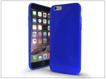 Apple iPhone 6/6S szilikon hátlap - Jelly Bright 0,3 mm - kék