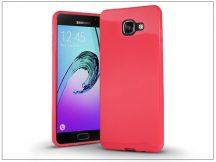 Samsung A310F Galaxy A3 (2016) szilikon hátlap - Jelly Bright 0,3 mm - pink