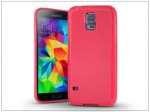 Samsung SM-G900 Galaxy S5 szilikon hátlap - Jelly Bright 0,3 mm - pink